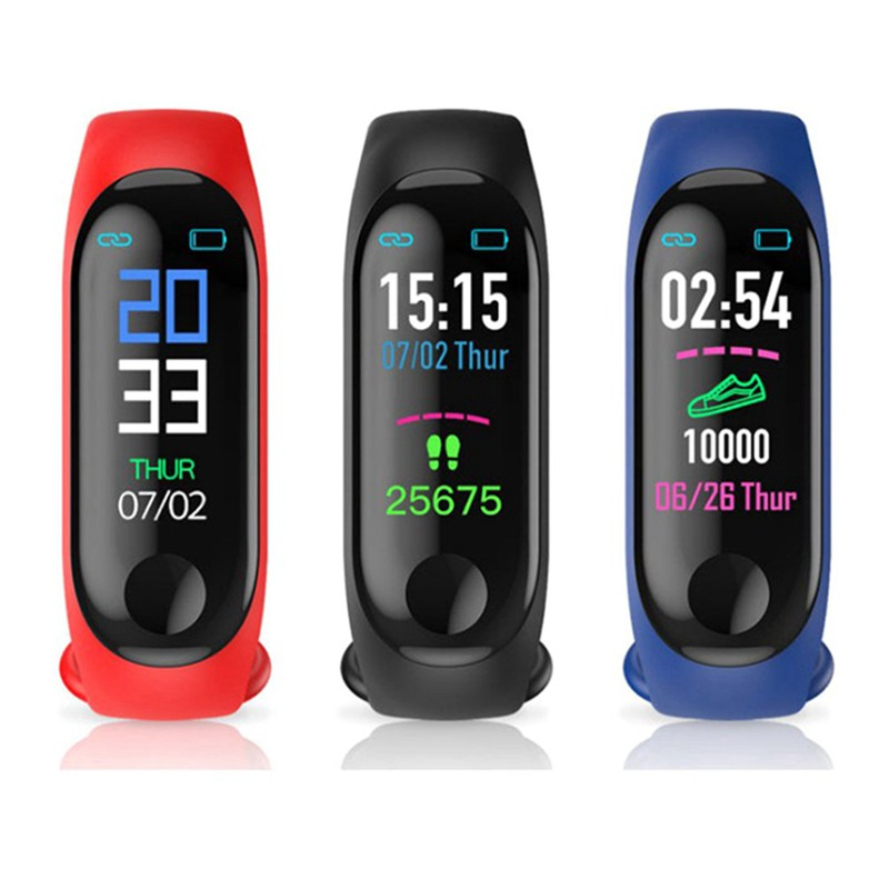 Sports Smart Watch Bracelet Blood Pressure Monitor Smart Band Fitness Tracker