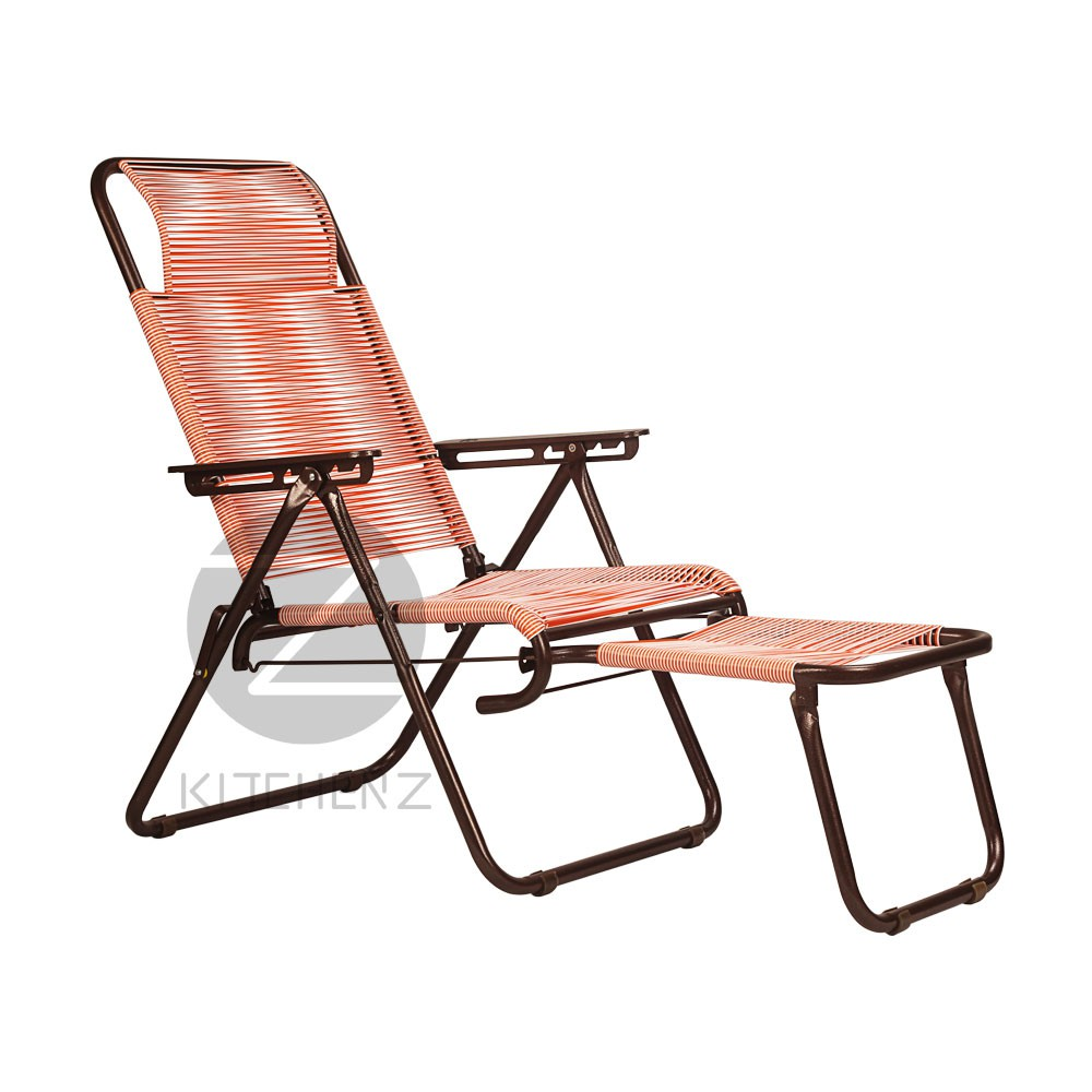 3V Lazy Chair 25mm Metal Pipe SLC704D PVC Round String