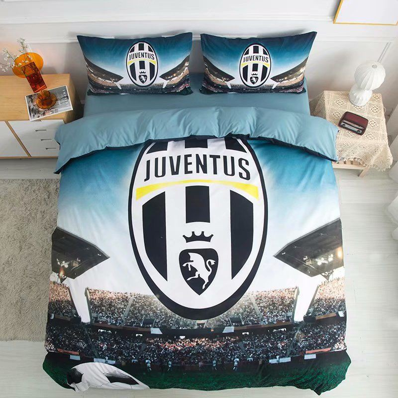 Bedroom Sheet Sets Quilt Cover Duvet Cover Bedsheet Pillowcases Juventus C Ronal Shopee Malaysia