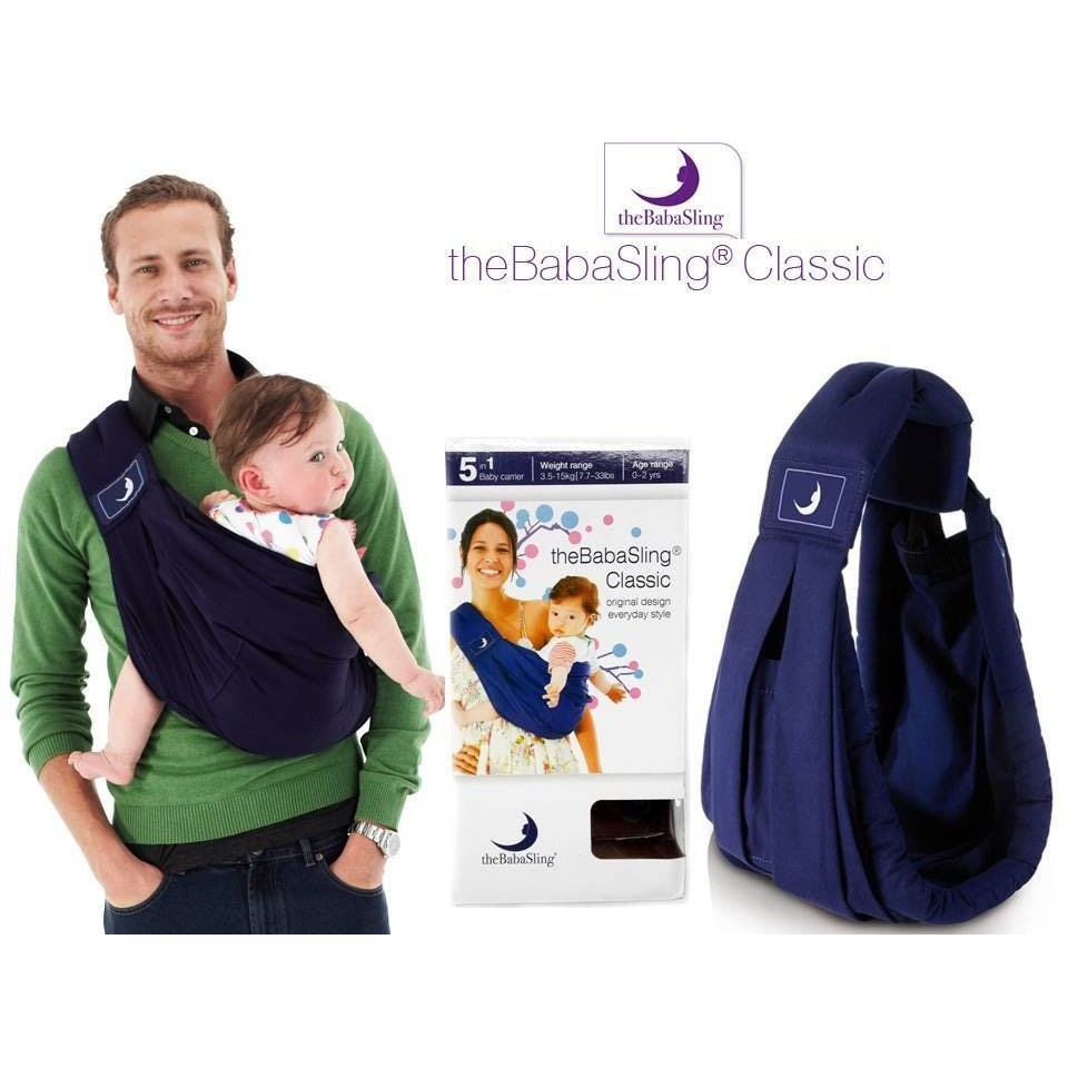 Hot The Babasling 5 In 1 Baby Carrier Classic Sling Baby Carrier