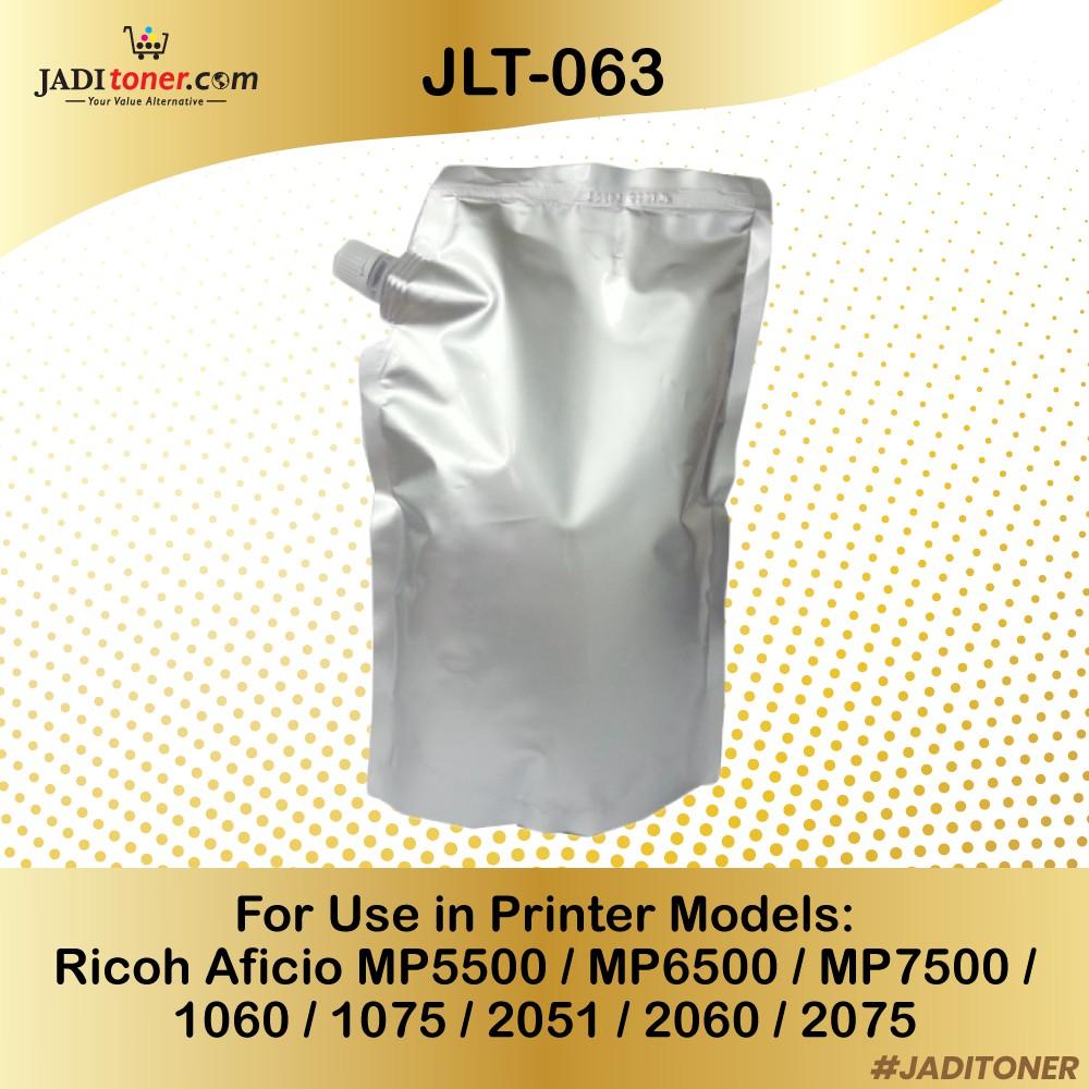 Compatible (1KG Bag) Ricoh Mono Toner JLT-063 for Ricoh MP5500 MP6500 Type  6210D