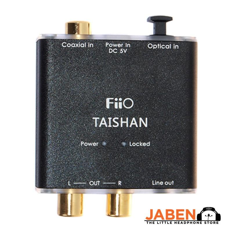 FiiO D03K Taishan 24 bit 192kHz Optical Toslink Coaxial PCM Format to RCA Output 3.5mm Line-Out Converter DAC Jaben