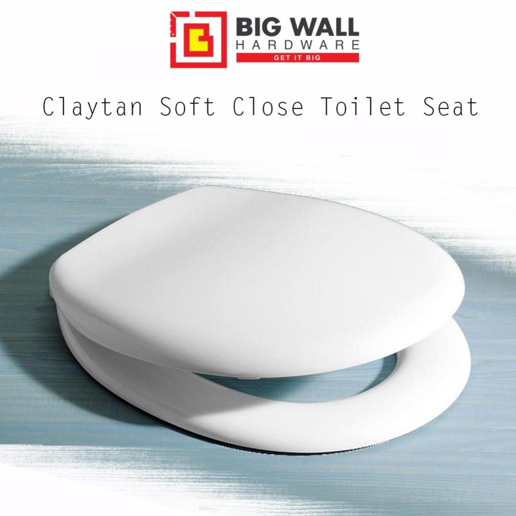 Admirable Claytan Soft Heavy Duty Close Toilet Seat And Cover Uscn251Hswt Gmtry Best Dining Table And Chair Ideas Images Gmtryco
