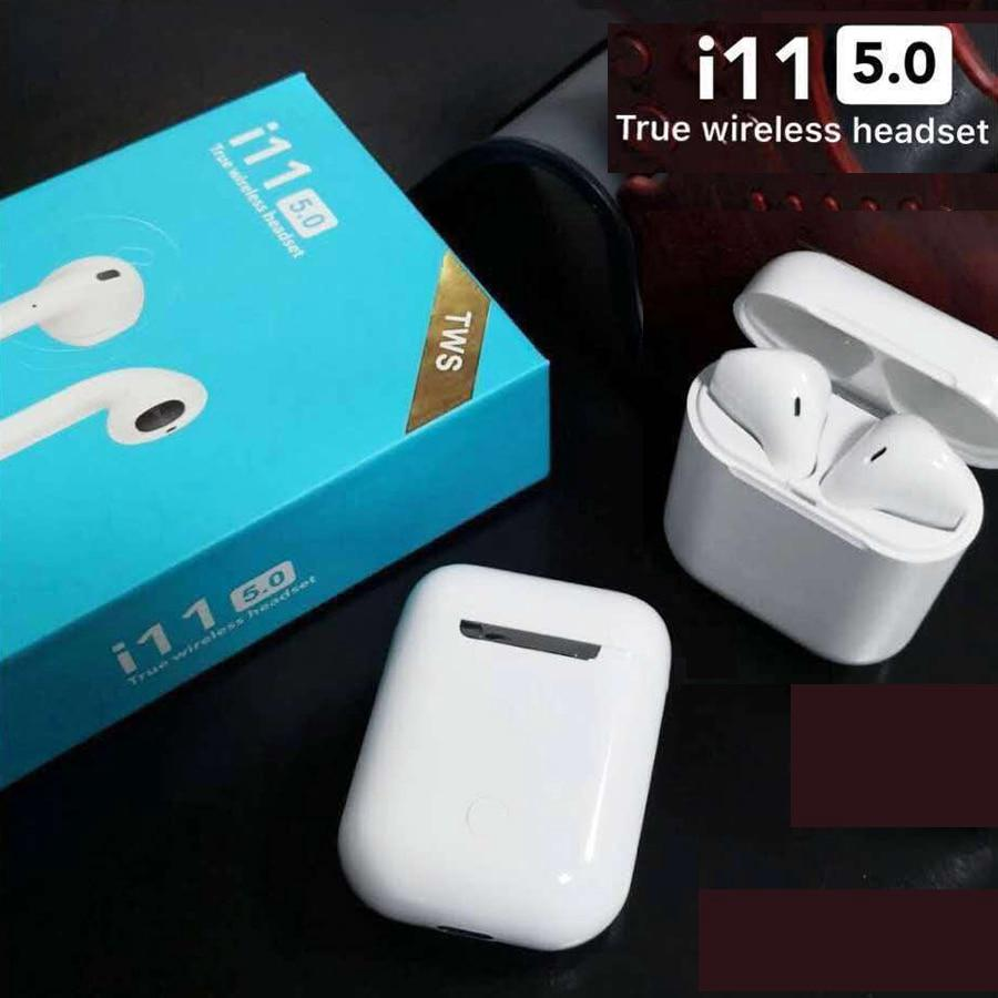98c2ce980bb New i11 TWS True Wireless Earbuds 5.0 Bluetooth Earphone Headphone Air Pods  | Shopee Malaysia