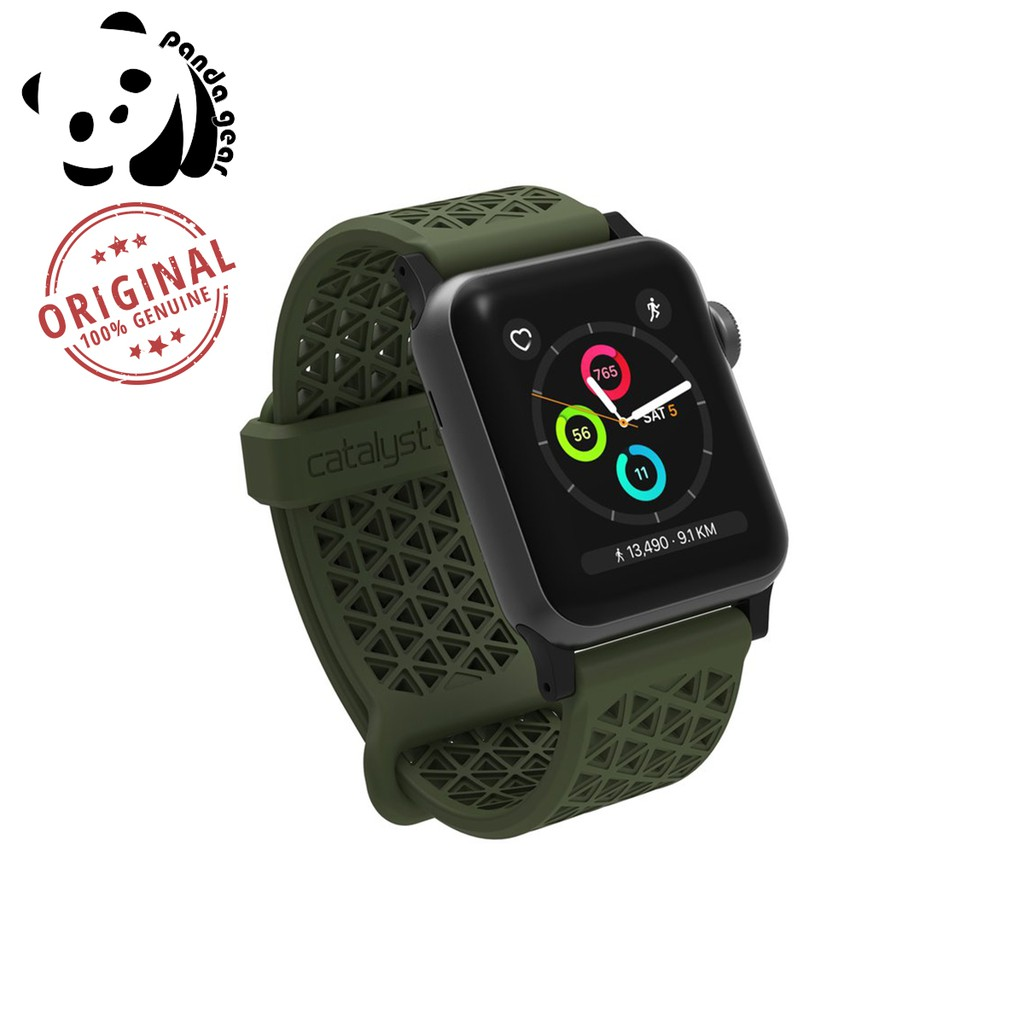 new product 3fc9d 7a444 Catalyst Sport Band Apple Watch Series 2/3/4 38/40mm (Army Green)