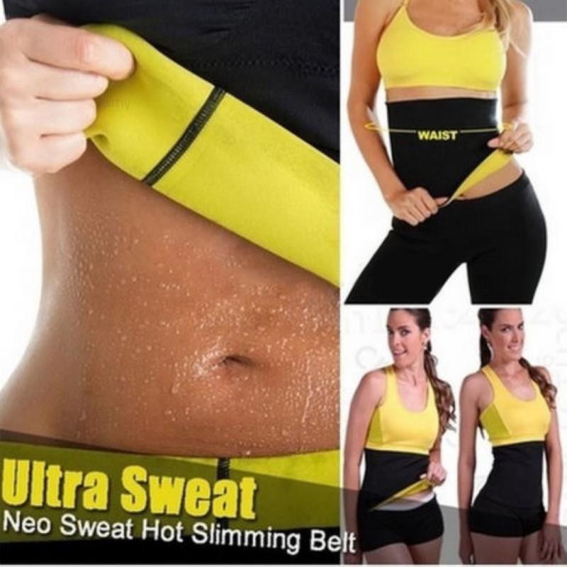 696de6cf49 Slimming Waist Trimmer Exercise Weight Loss Wrap Belt Burn Fat Sweat Body  Shaper