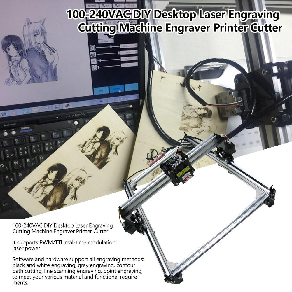 100-240V Desktop Laser Engraving Cutting Machine DIY