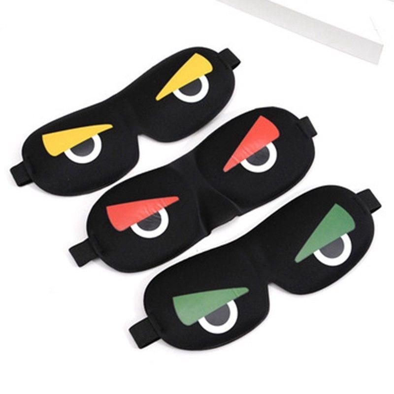 Gift Box Goodies Unicorn Eye Mask Soft Cotton Eyemask Blindfold Travel Masks Relax Sleep Girls Birthday UK SELLER Black