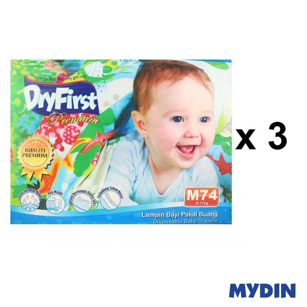 Dryfirst Premium Mega M74 (3 Pack)