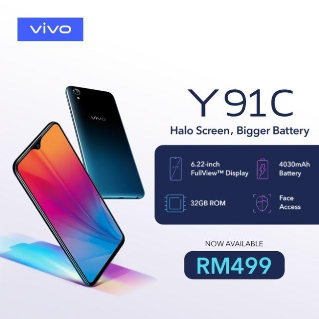 VIVO Y91C (2gb+32gb)
