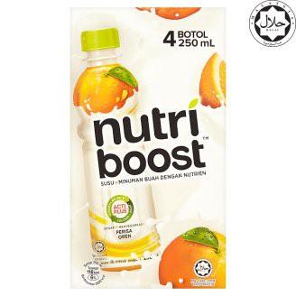 Nutri Boost Orange 4 x 250ml