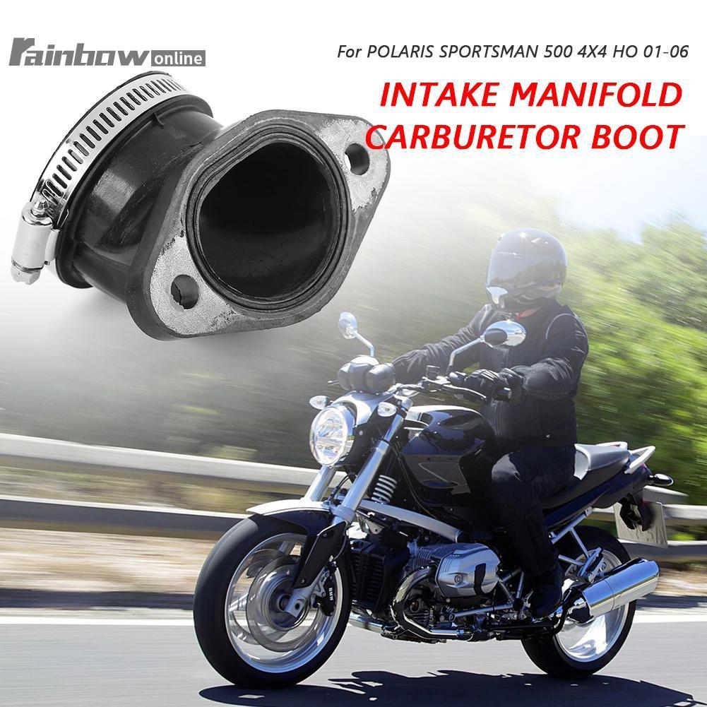 Intake Manifold Carburetor Boot For Polaris ATV Sportsman 500 4X4 HO Intl 2005//DUSE HO 2001