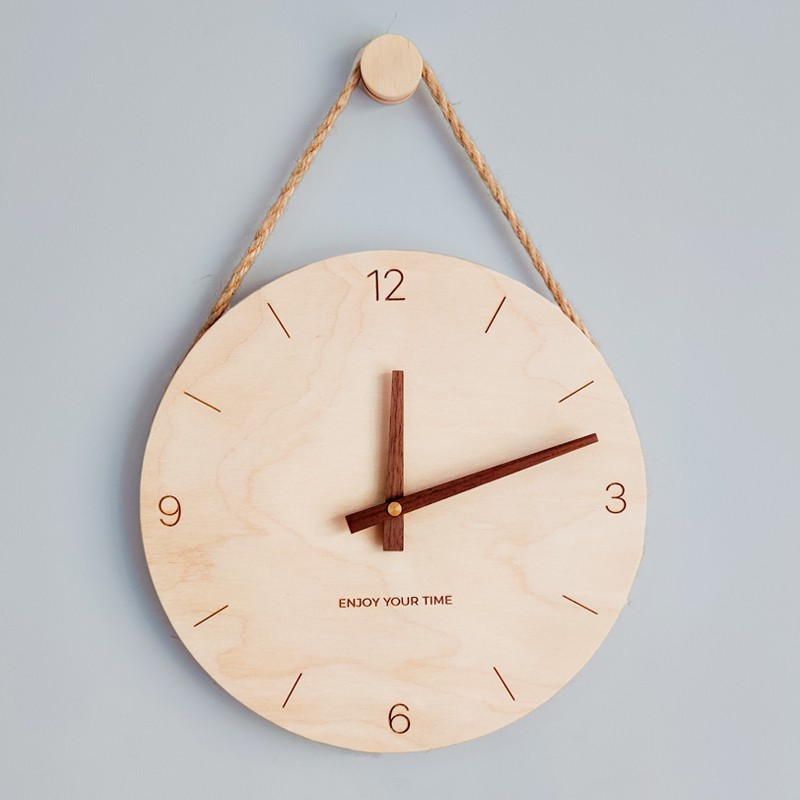 Scandi Hanging Clock