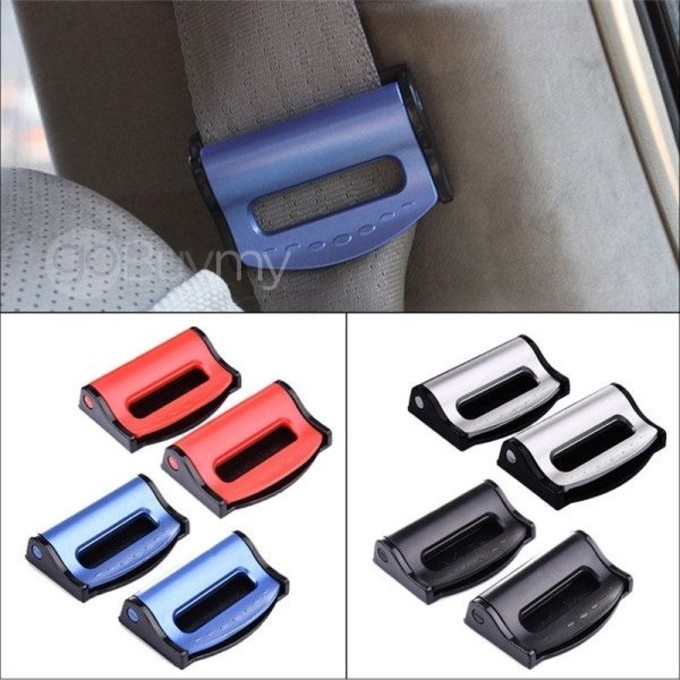 1x Car Vehicle Seat Belts Clips Safety Adjustable