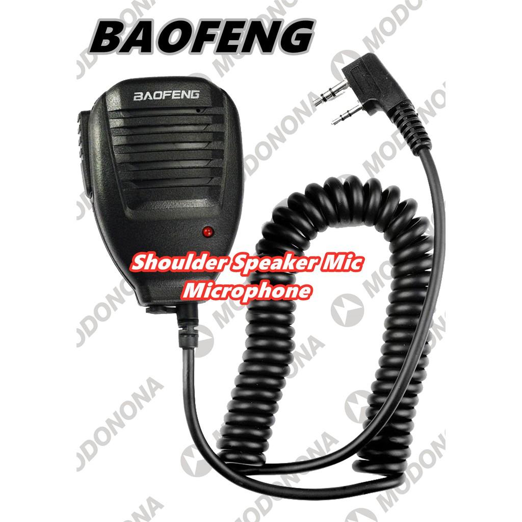 0fd9bad49c824 [LOCAL WARRANTY] ALX Baofeng PTT Handheld Walkie Talkie Mic Microphone