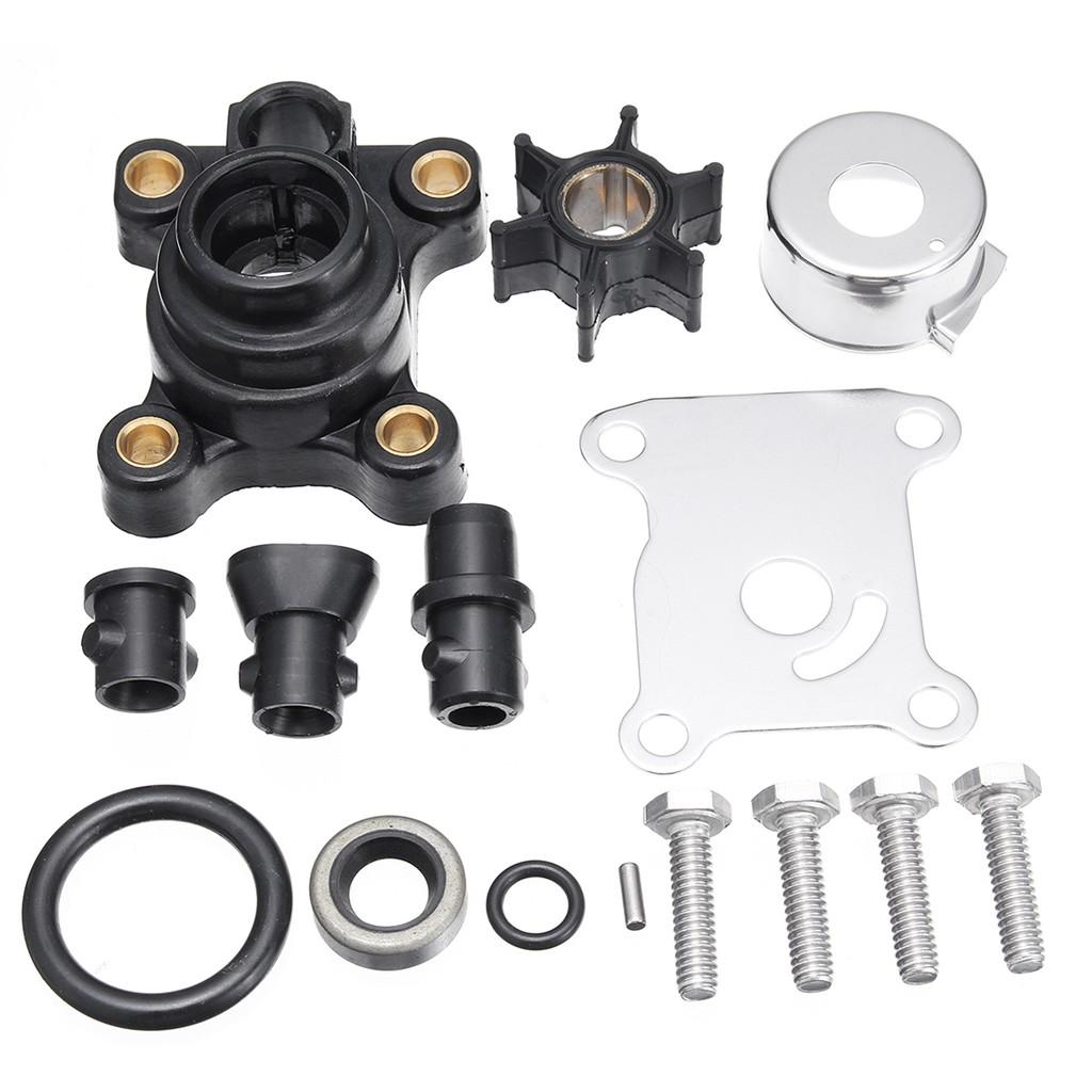 Water Pump Impeller Repair Kit 9.9//15hp For Johnson Evinrude 2 /& 4 Stroke394711
