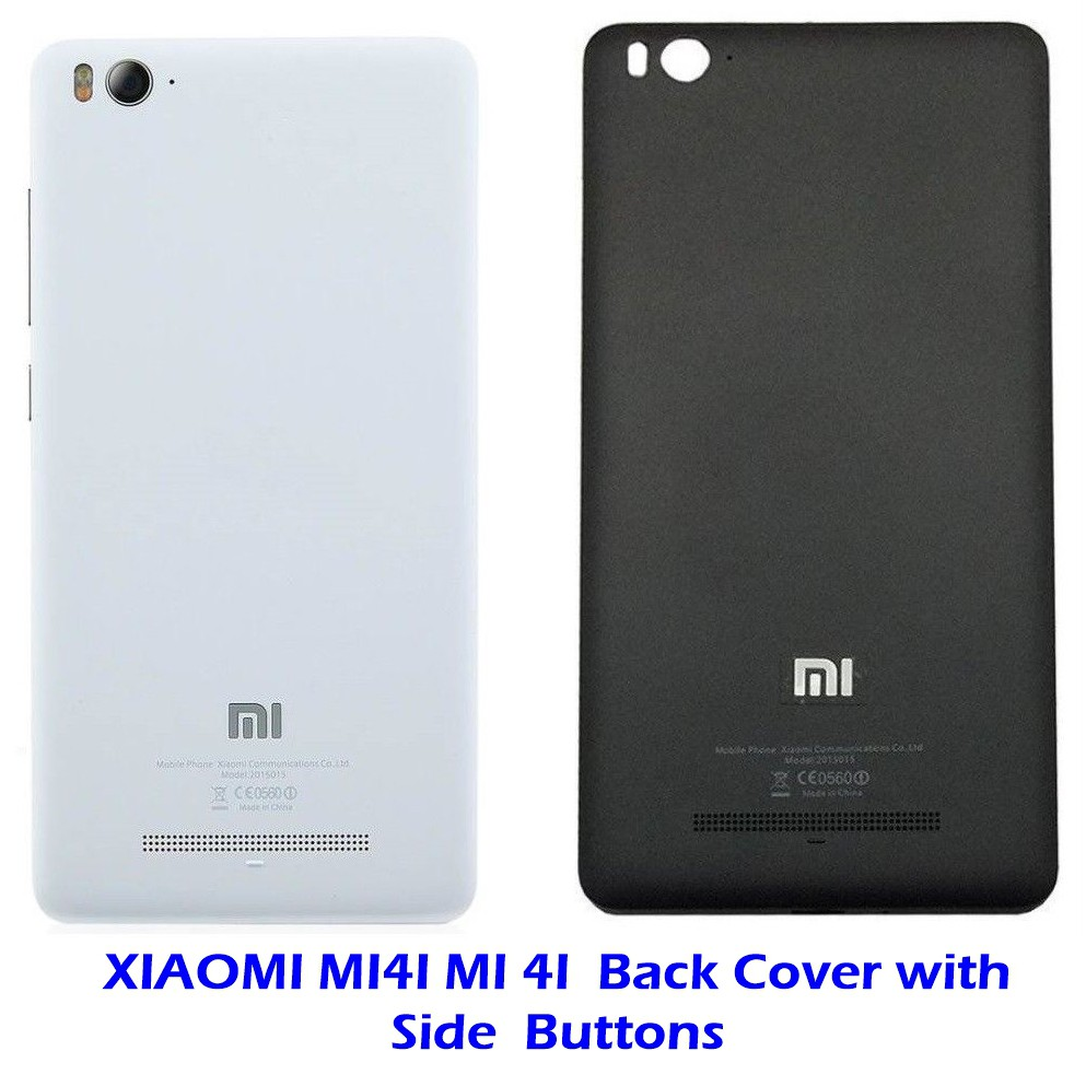 size 40 fef6b b05b5 XIAOMI Mi4i Mi 4i Battery Door Back Panel Back Cover Housing with Side  Buttons