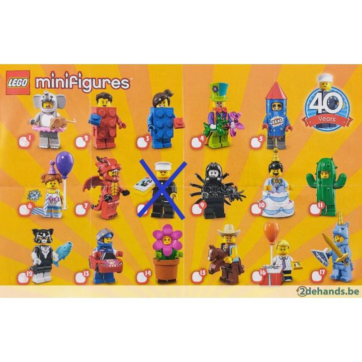 Birthday Party Costume NEW Series 18 Minifigure Unicorn Knight Guy LEGO