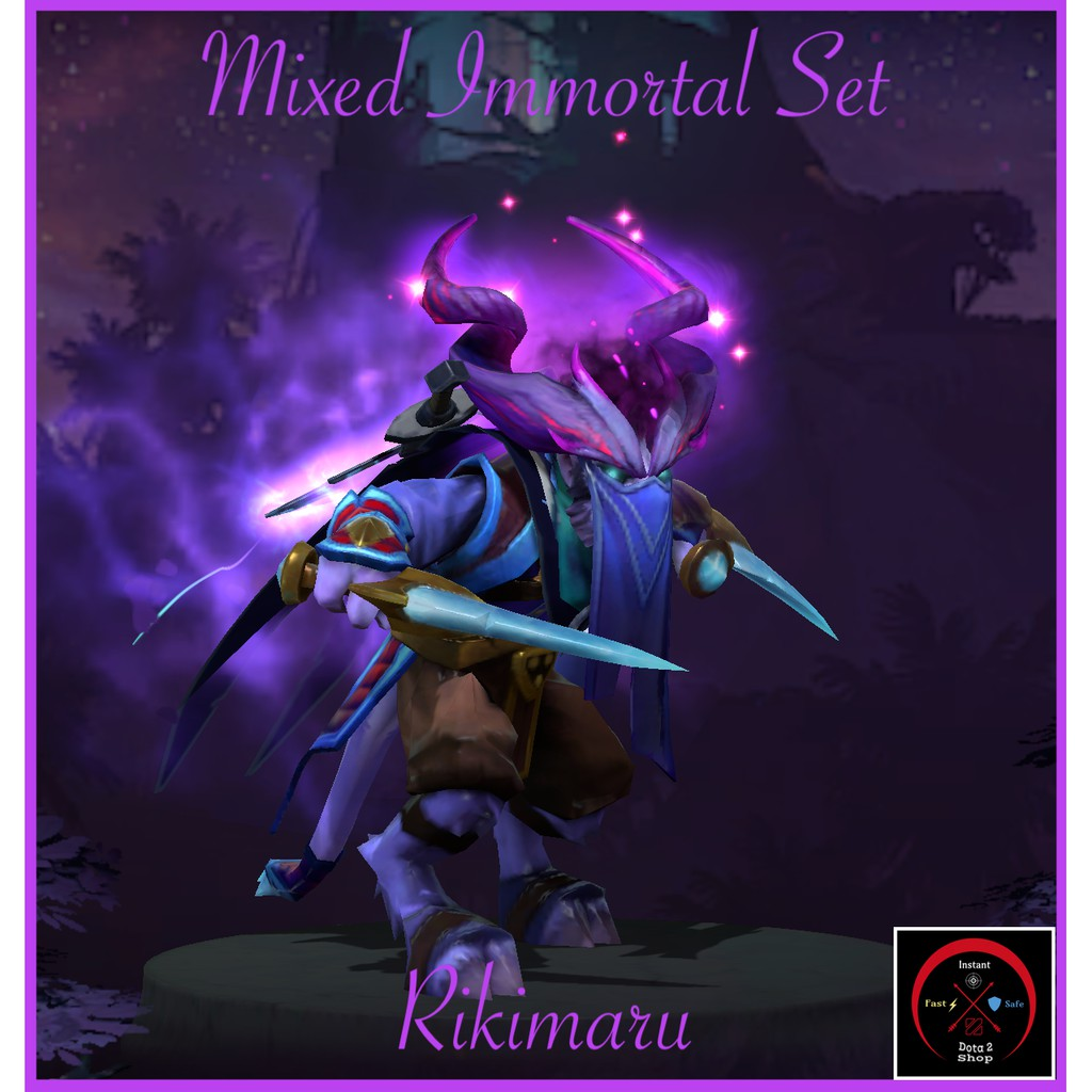 Dota 2 Rikimaru Mixed Immortal Set Shopee Malaysia