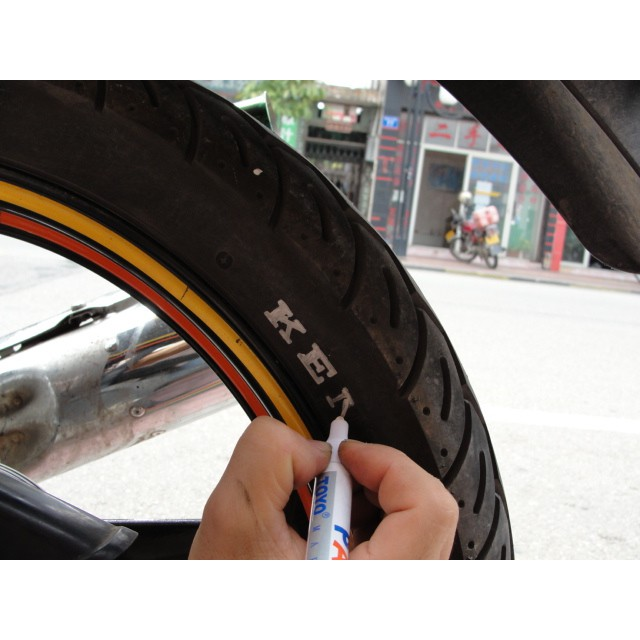 Motorcycle modified paint pen motorcycle fuel tank touch up pen WISP  motorcycle paint pen motorcycle tire pen