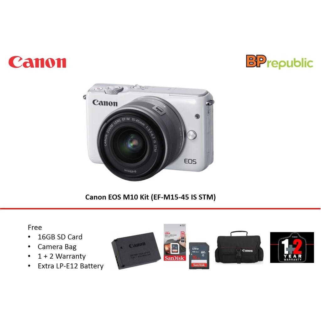 Canon Eos M10 Ef M 15 45 Pokemon Edition Shopee Malaysia Kit Is Stm 10
