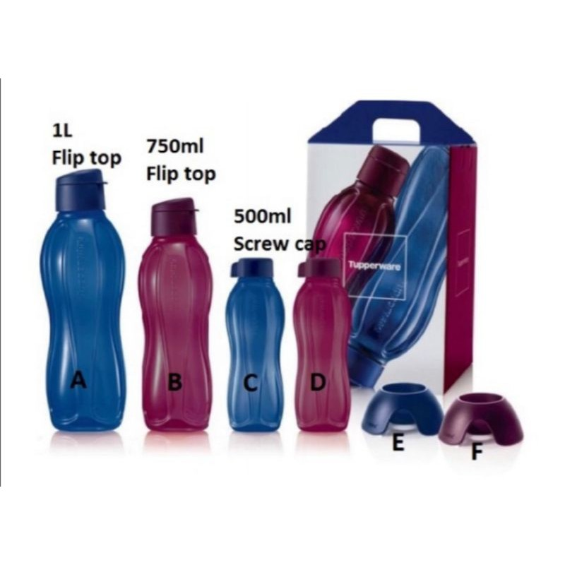 ✳️Tupperware Sapphire Eco Bottles Collection✳️