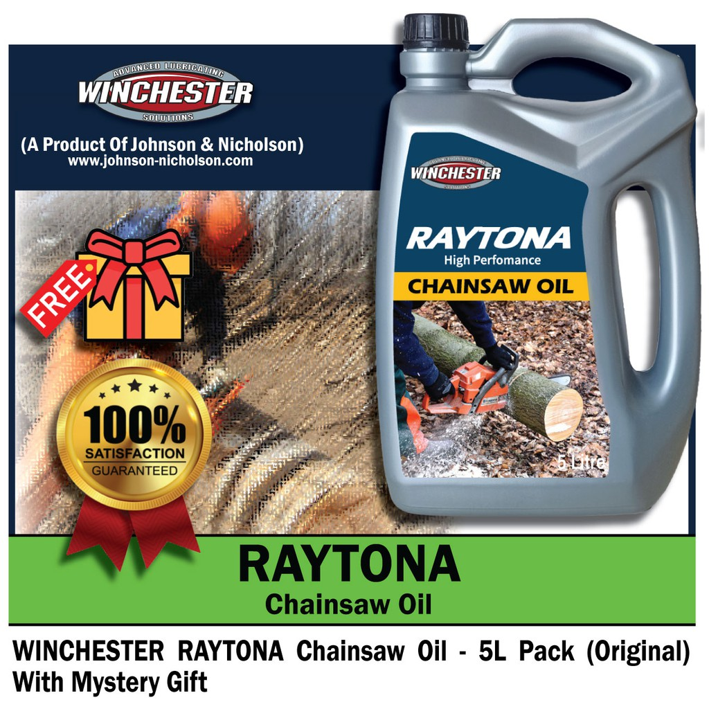 Winchester Raytona Chainsaw Oil Minyak Gergaji (5L)