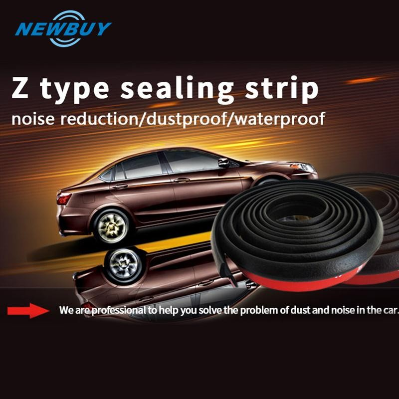 Back To Search Resultshome Improvement Dashing Car Door Weatherstrip Sealing Strip 4 Meter Big D Car Door Rubber Seal Noise Sound Insulation Noise Waterproof Door Insulation Sealing Strips