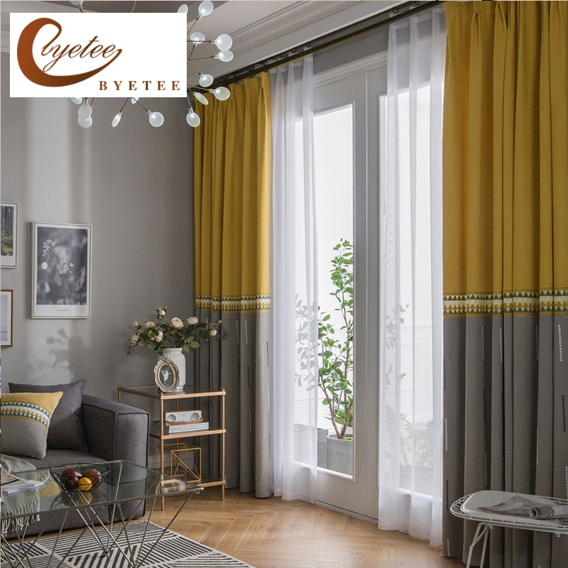 Blackout Curtains For Bedroom Modern, Living Room Curtain