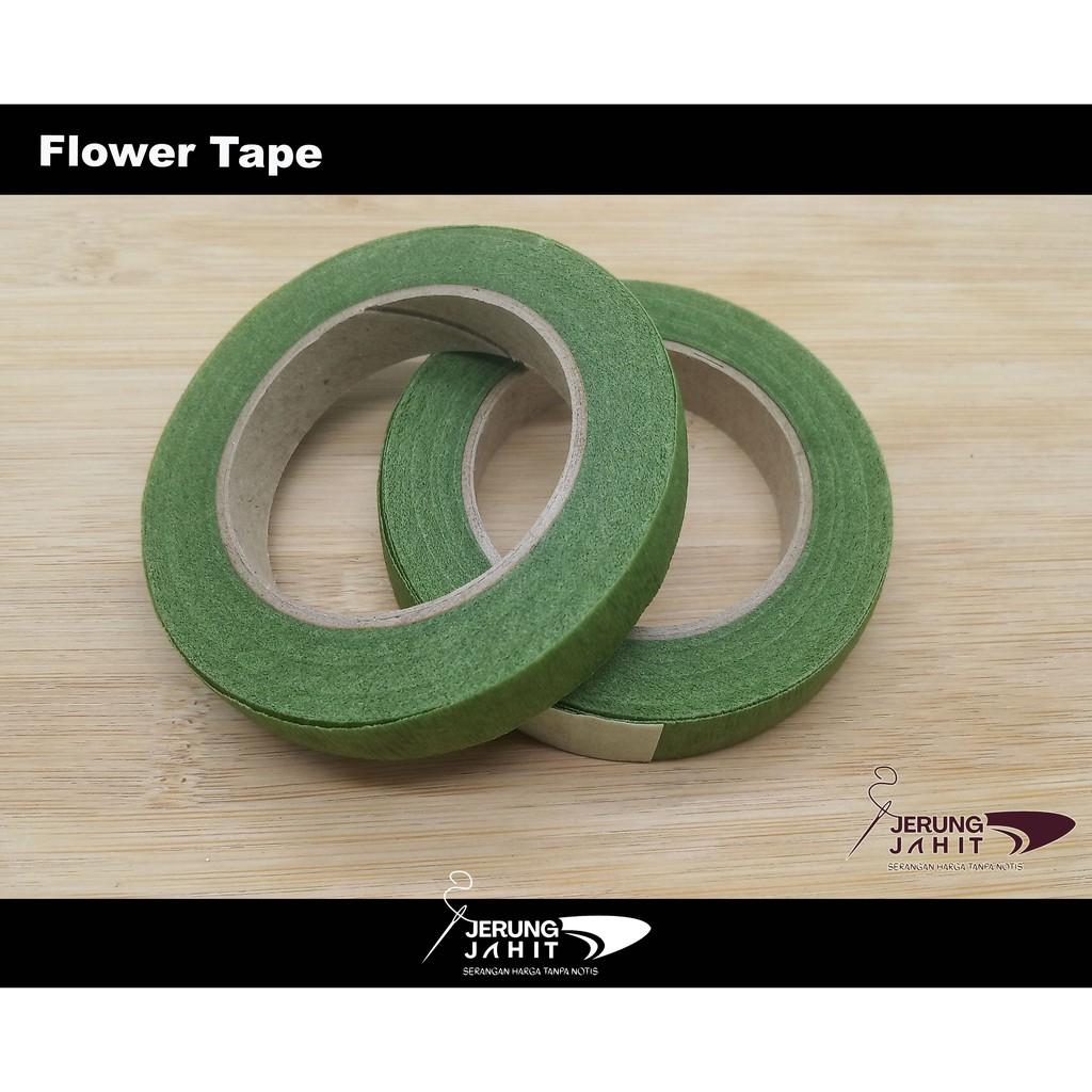 Tape Bunga Tiruan/Artificial Flower Tape/Floral Stem Tapes (1 Gulung/ 1 Roll)