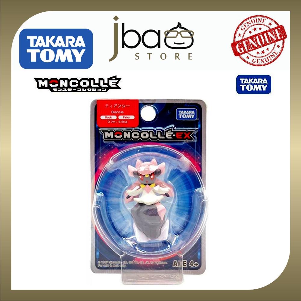 Takara Tomy Pokemon Moncolle EX MC40 Diancie MINI Toy Figure Rock Monster