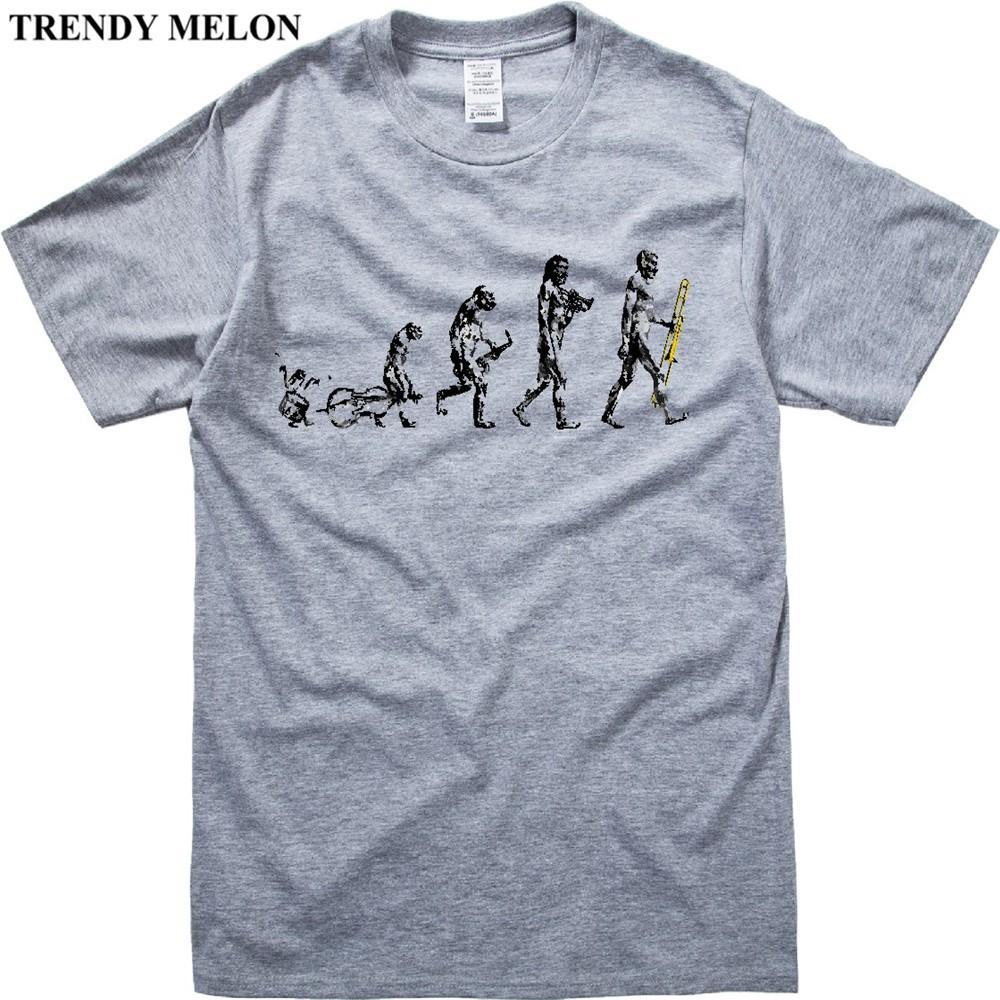 eff308b2 T Shirt Men Trombone Evolution Funny T-Shirt Short Sleeve Tees Hipster01 |  Shopee Malaysia