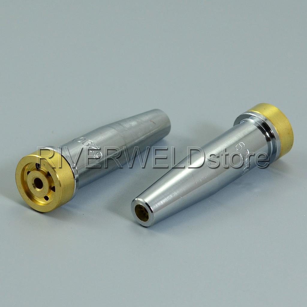 2pcs Propane Natural Gas Cutting Tip 6290NX-3 For Harris Torch