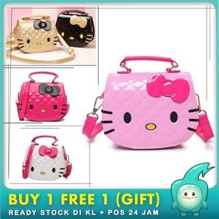 afc10c41e Ready Stock hello kitty cartoon kid sling bag shoulder bag | Shopee Malaysia
