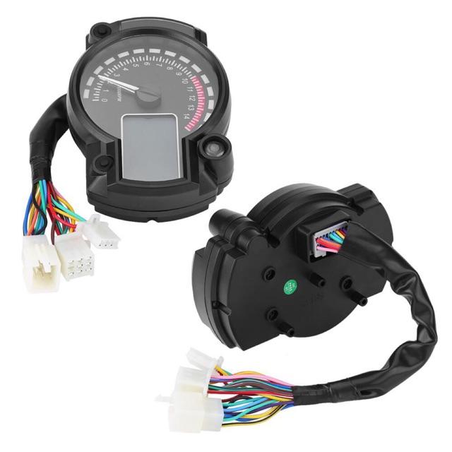 Universal Motorcycle Digital Meter Lcd Digital Speedometer