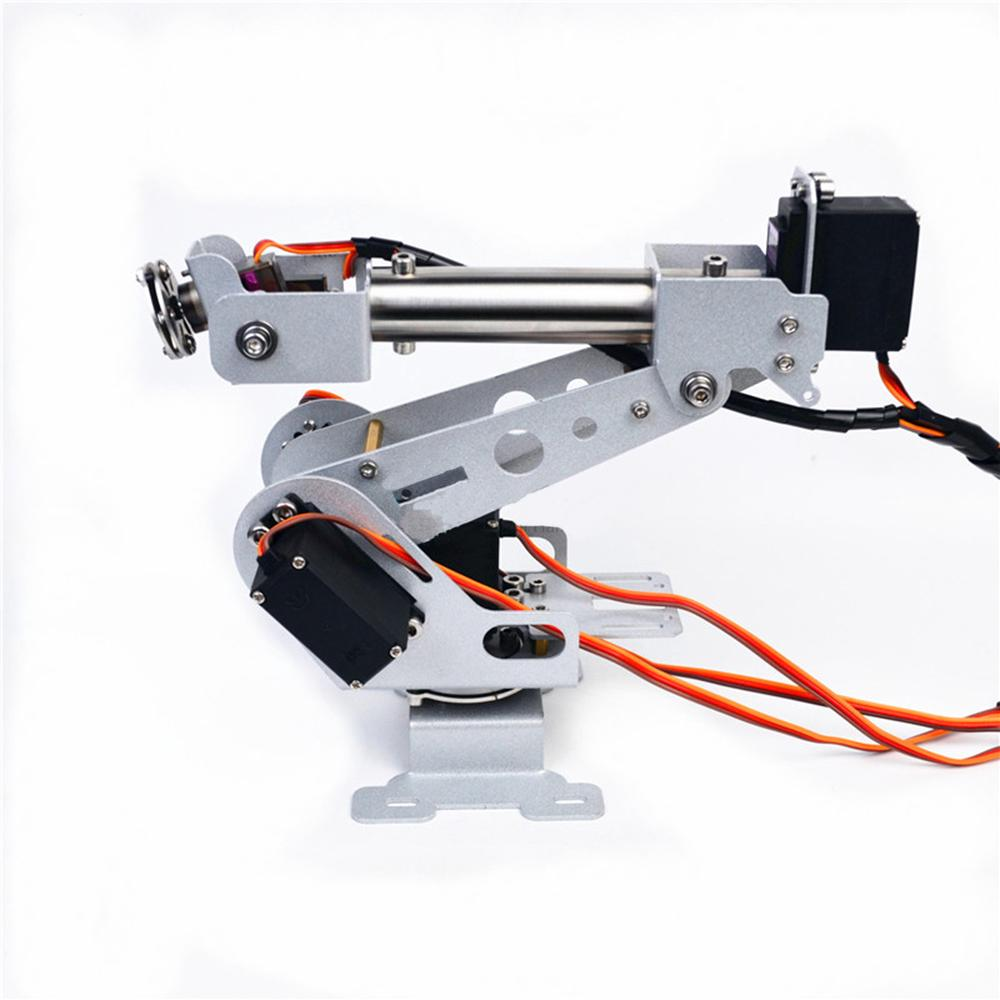 DIY 6DOF RC Robot Arm Stainless Steel Robot Arm For Arduino | Shopee