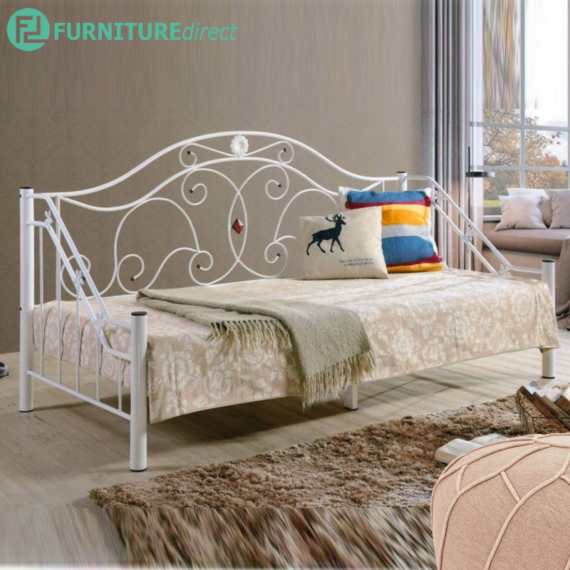 Furniture Direct DB999 single size metal day bed- 2 colors