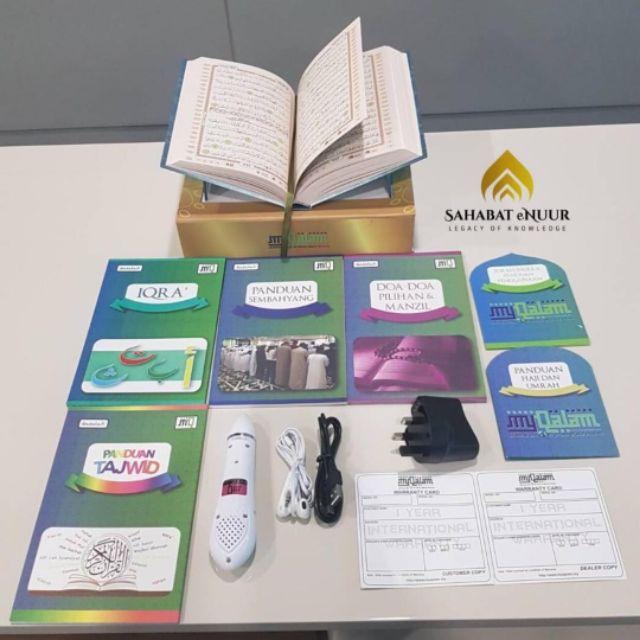 (Sahabat Enuur) Al Quran Digital My Qalam ASOTV Size A5 and A4