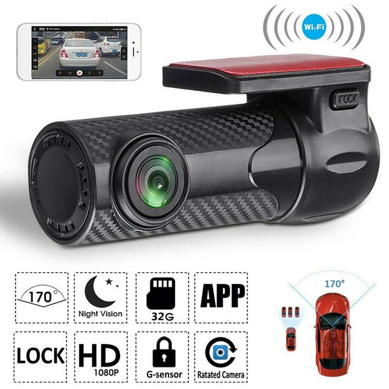 Car camera wifi 360 system DVR dashboard Recorder 1080P Full HD 170 Degree...