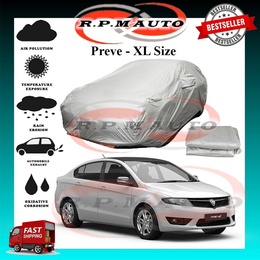 Proton Preve High Quality Yama Car Cover - XL Size selimut kereta preve car cover preve