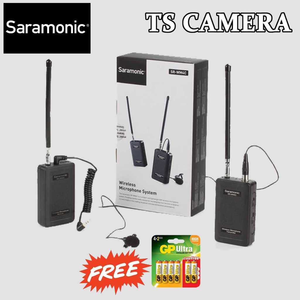 SARAMONIC SR-WM4C WIRELESS MICROPHONE