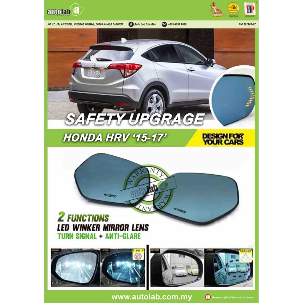 Side Mirror Lens with LED Indicator - Honda HRV 2015-2017