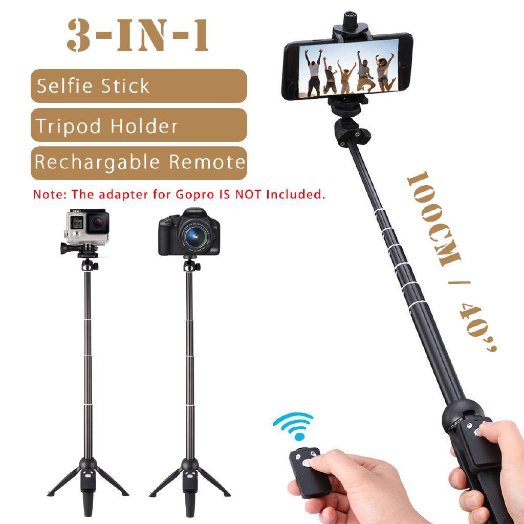 Professional bluetooth Remote Camera Tripod Holder Mount For