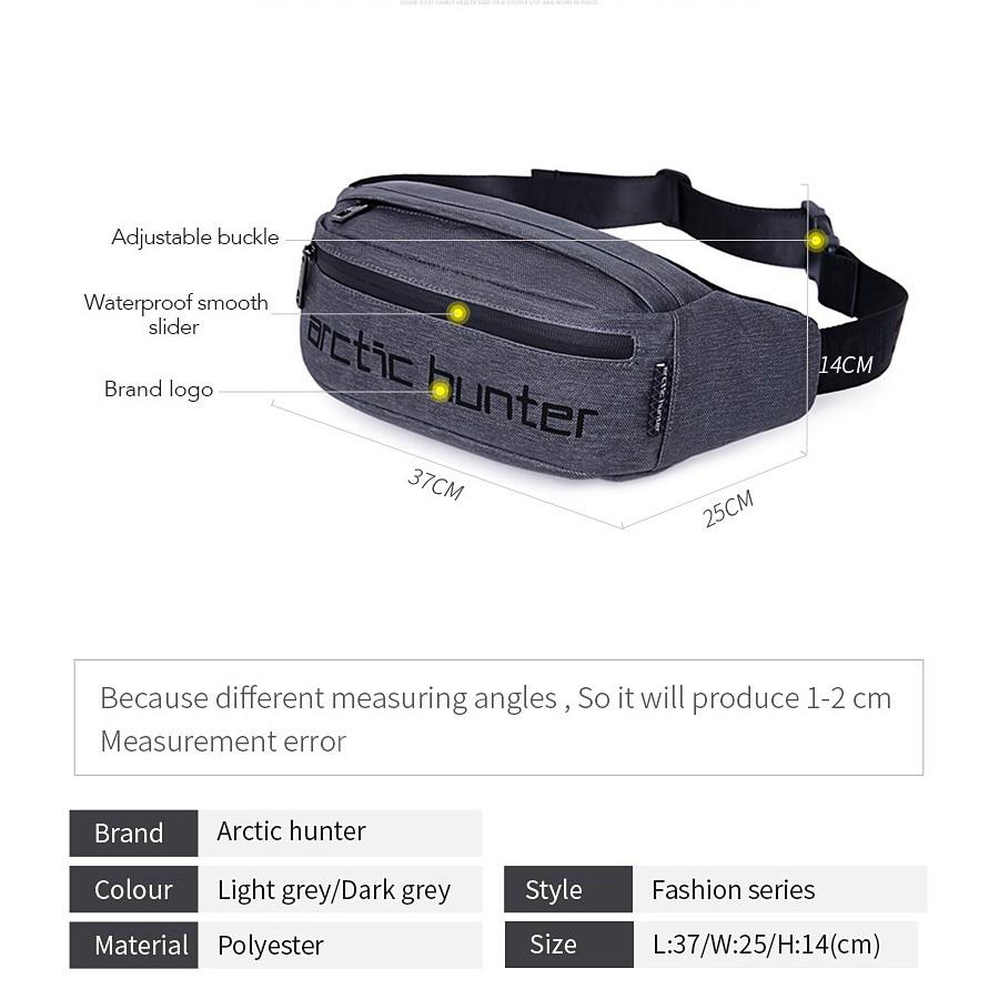 Arctic Hunter i-Convy Waist Bag for Men