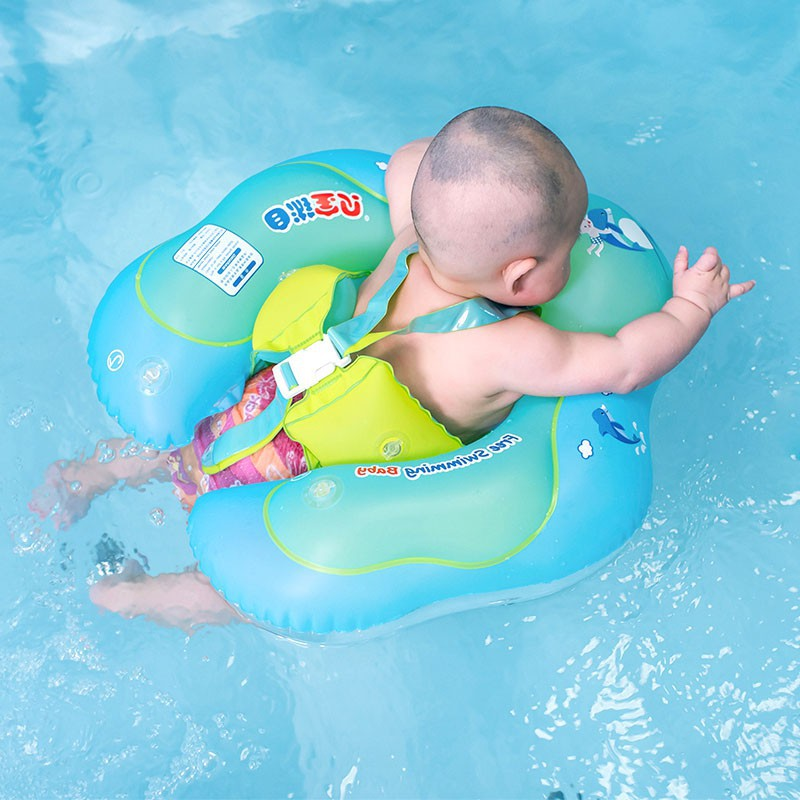 Baby Summer Toys Swim Ring Double Airbag Is Safer My Baby Float Swimming Swim Ring Pool Infant Chair Lounge With Backrest Pools & Water Fun