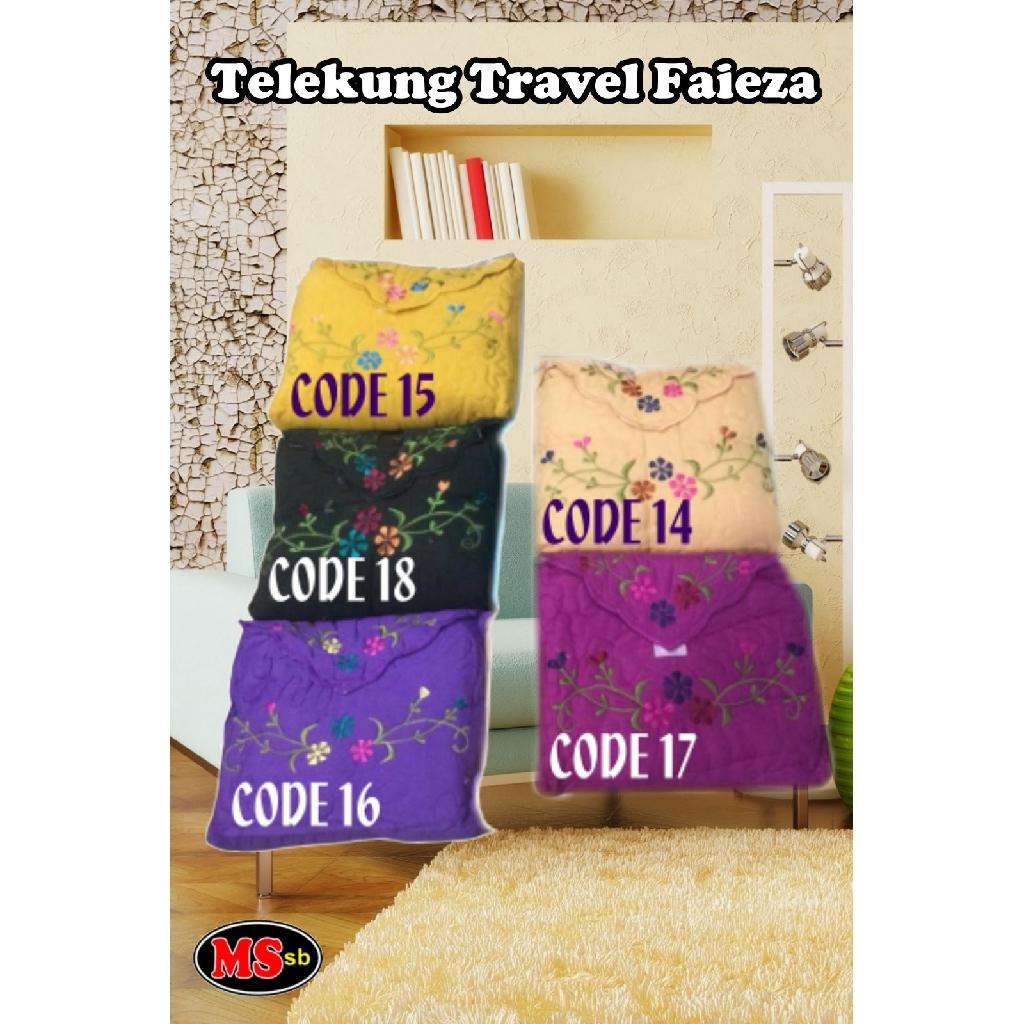 Telekung Travel Faieza (Cotton)