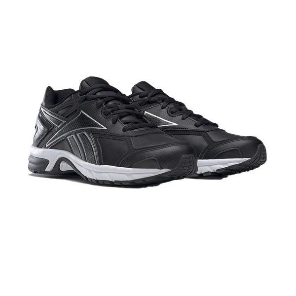 REEBOK : รองเท้ากีฬา UNISEX รุ่น  QUICK CHASE สี black/white/silver met.