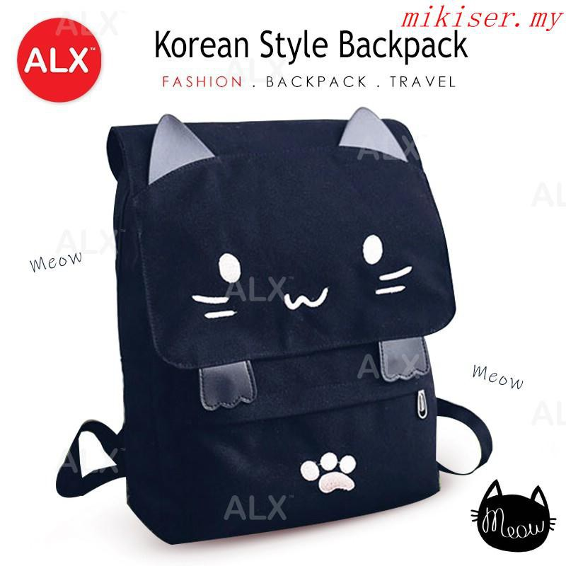 fc51bce942 Korean Rucksack Travel Cute Student Backpack Laptop Bags Beg Sekolah T2260