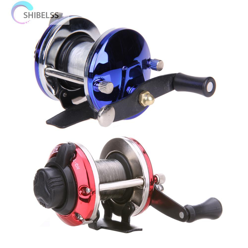 Right Saltwater Ice Fishing Rolling Reels Line Drum Wheel Ice TB Liner