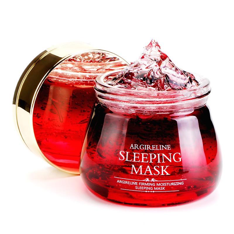 [ READY STOCK ]  100% Natural Arbutin Essence Face Mask Skin Care Sleep Mask Facial Makeup Serum Lotion Jualan Murah Girl